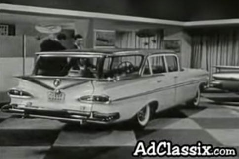 Classic Advertisement - 1959 Chevrolet Wagon