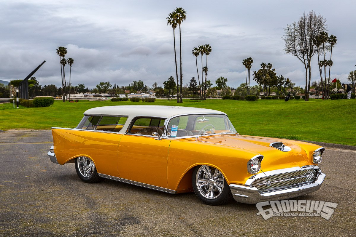 Gorgeous 57 Chevy Nomad Is Goodguys Custom Of The Year