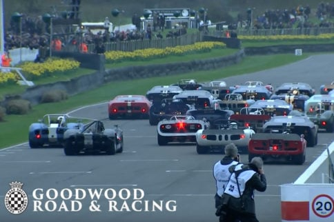 Video: GT40 Wrecks With McLaren At Goodwood