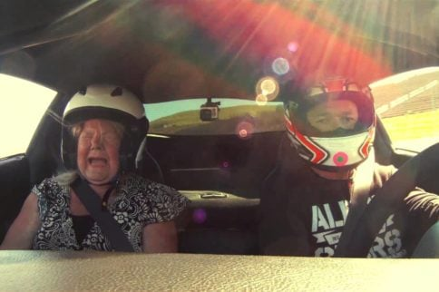 Video: Scaring Mom in a Corvette Z06!