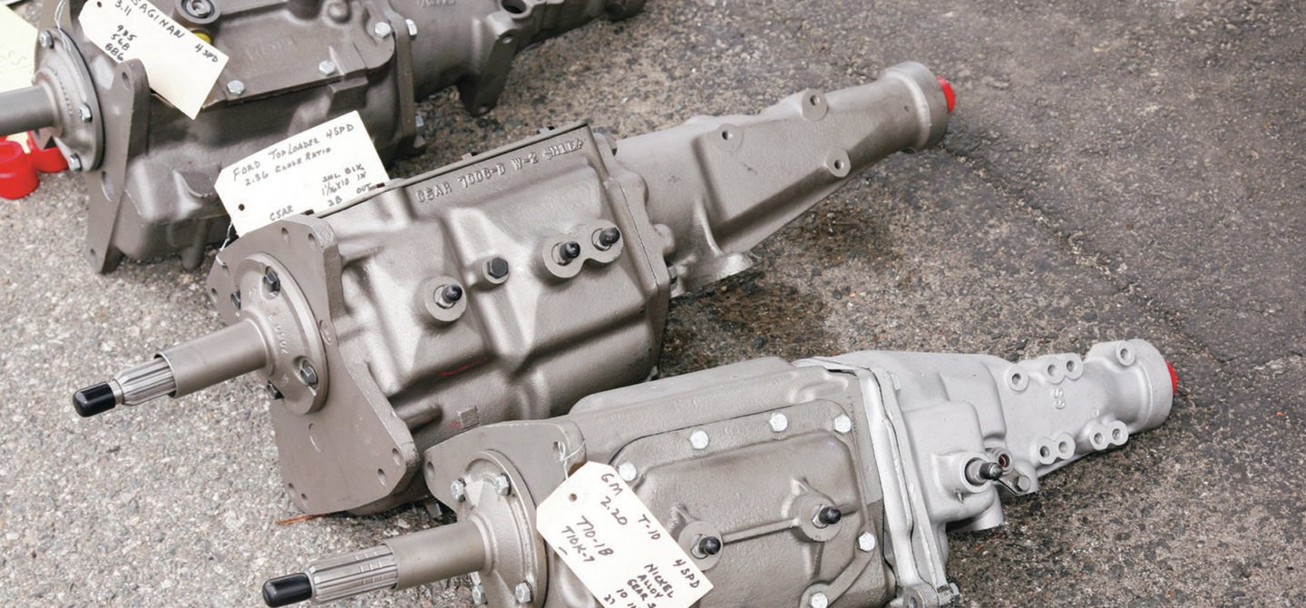 Identify General Motors' Four-Speed Transmissions