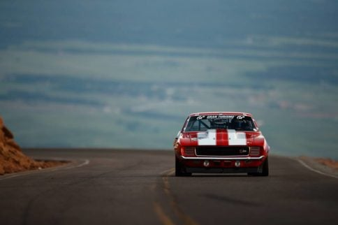 Video: 1,000-HP Big Red Camaro at Pike's Peak