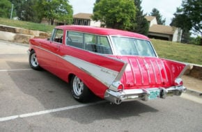 This '57 Nomad Is Red, Righteous, And Ready To Cruise