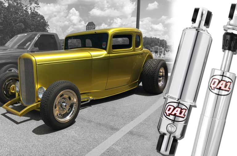Video: QA1 Releases Custom Mount Hot Rod Series Shocks