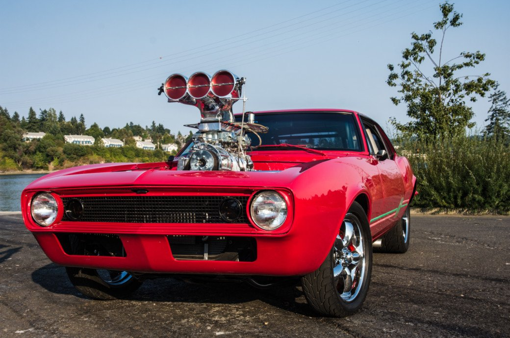 This '67 Camaro Is Pro Street Perfection And Embodies Muscle