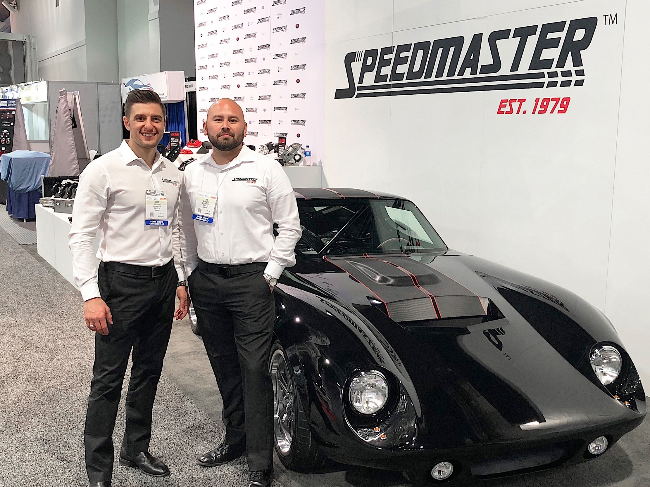 Speedmaster Daytona Coupe Draws Huge Crowd of Fans at the 2017 SEMA Show in Las Vegas