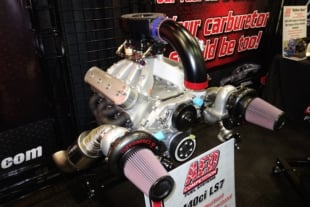 PRI 2017: Custom-Built Carbs Deliver Driveable Power