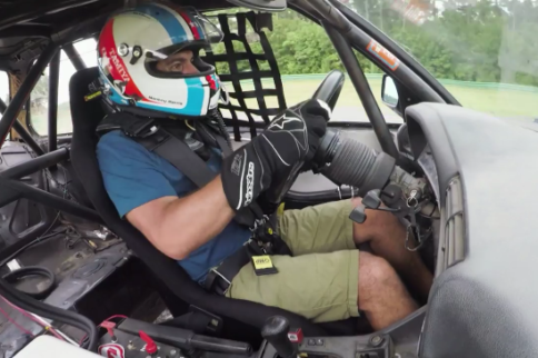 Video: Chris Harris Races a Chump Car BMW E30!