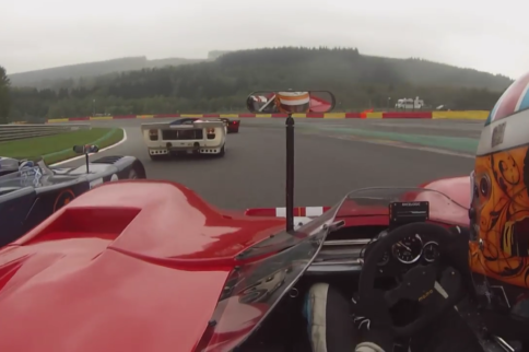 Video: Thrilling First-Lap Battle In Classic Le Mans Cars At Spa