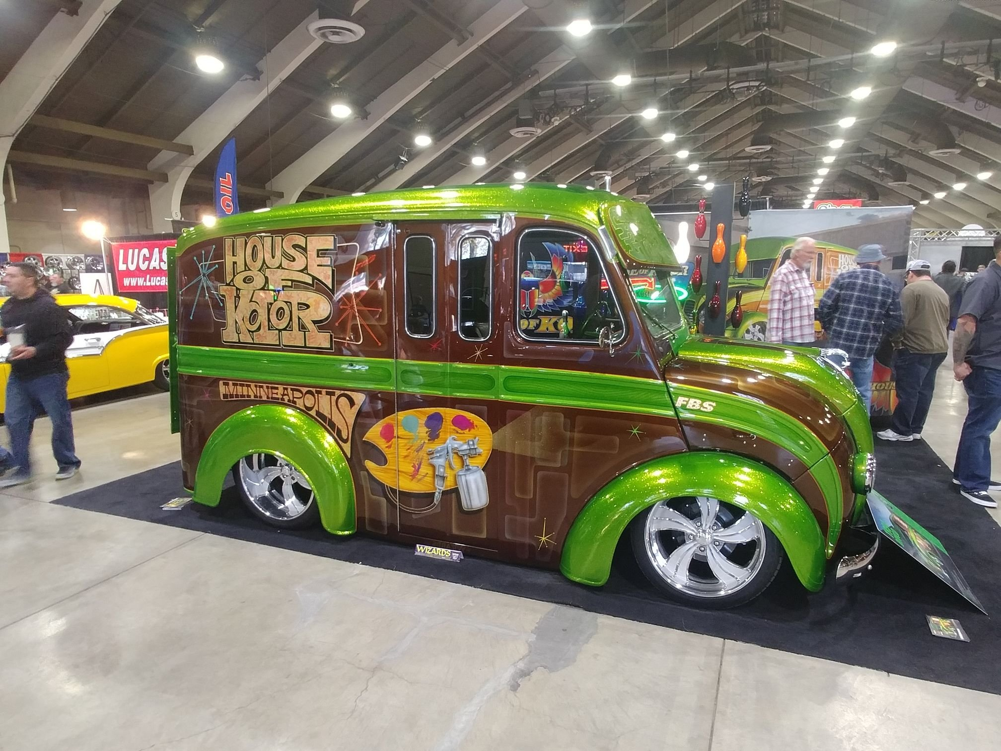 House of Kolor's LS Powered,1954 Divco Truck Delivers The ...