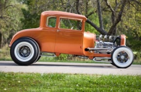 The Future Is Bright - A Young Rodder And His '29 Ford Coupe