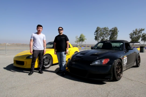 Video: Comparing S2000s With and Without Wings at Buttonwillow