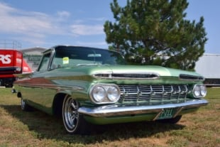 Green With Envy: Doug Mann's Nostalgic 1959 El Camino