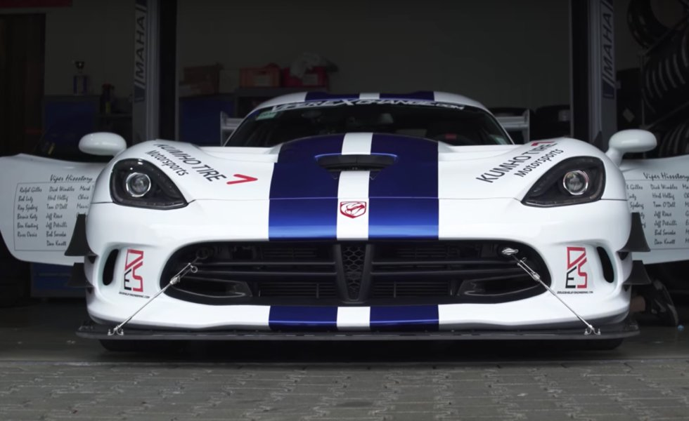 Video: Is The Dodge Viper The King Of The 'Ring?