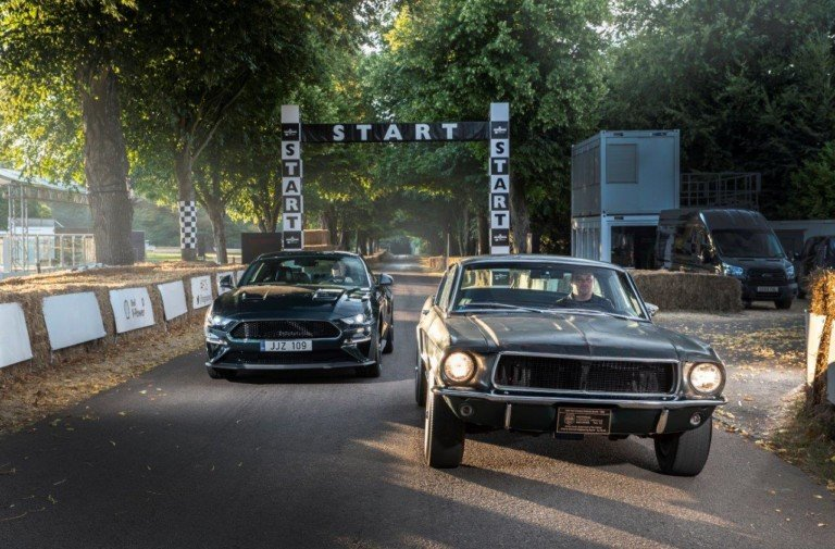 Goodwood FOS 2018 hosts 'Bullitt'