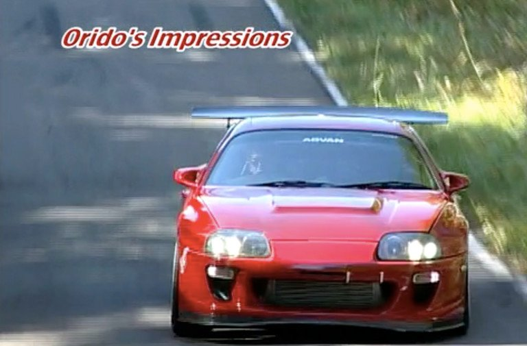Video: JGTC Star Throws 550-Horsepower Supra Sideways On The Touge