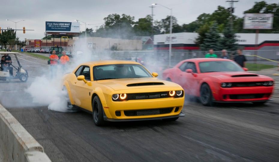 Richard Rawlings Crashes Hellcat During 4th annual Roadkill Nights