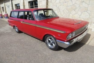 Dave Gardner's Custom 1963 Ford Fairlane Station Wagon