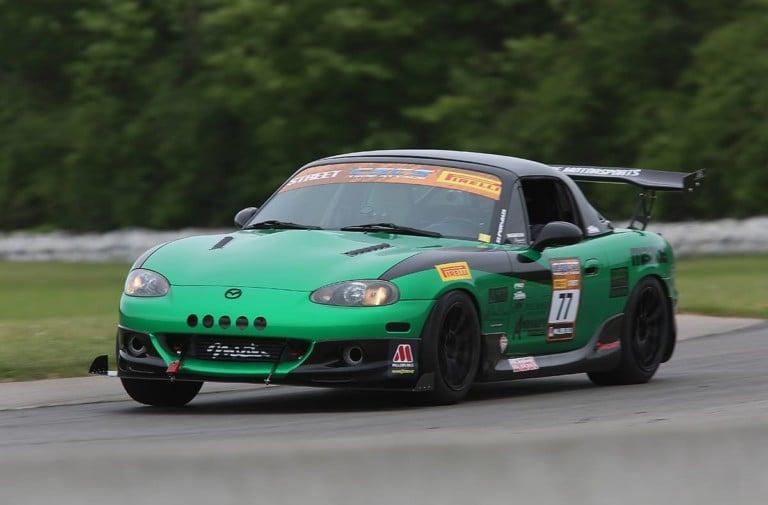 Supercharged Miata Battles Turbo Miata At Toronto Motorsports Park