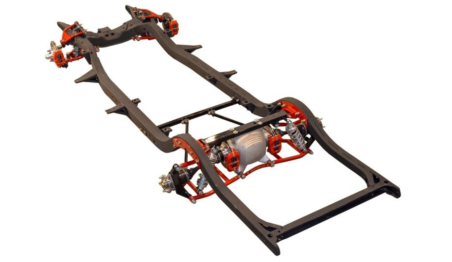 Heidts Introduces Reproduction 4-Link Or IRS Tri-Five Chassis