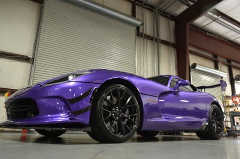 Purple Haze: See Zach Friedman's Screamin' 2017 Dodge ACR Viper