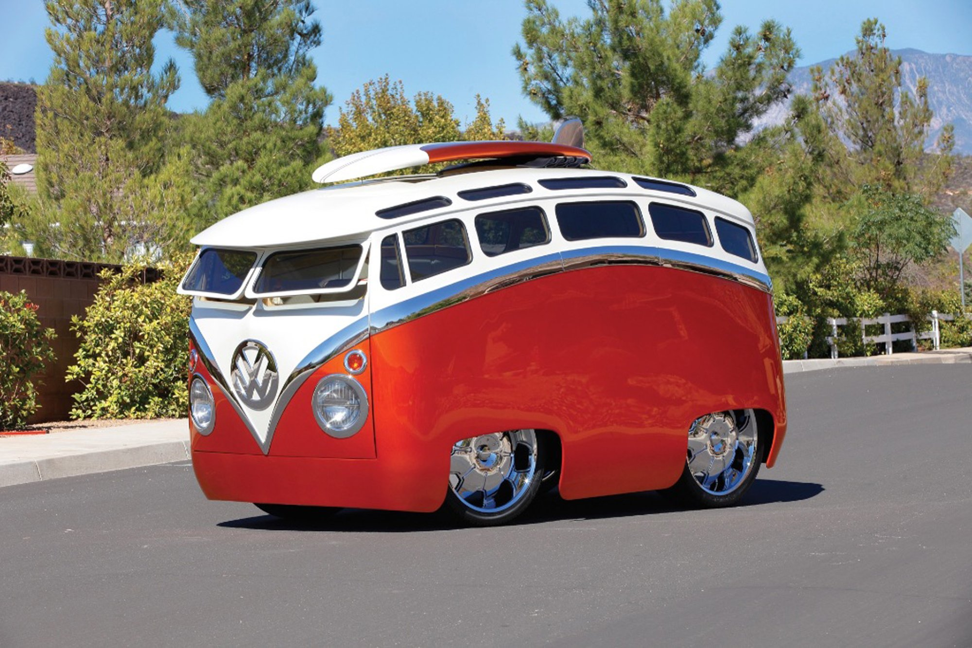 Straight Out Of Toontown Ron Berry S Surf Seeker Vw Bus