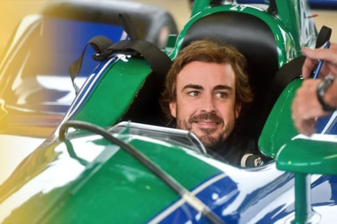 Video: Fernando Alonso Tests An IndyCar At Barber Motorsports Park