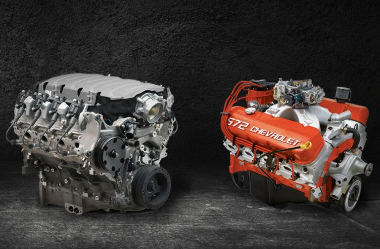New Chevy Crate Motors To Be Displayed In Vintage Vehicles At SEMA