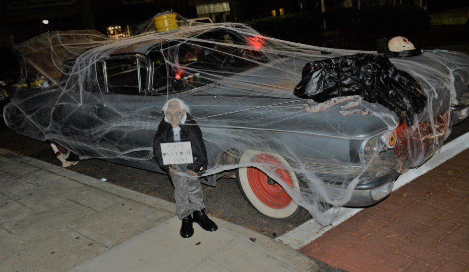 Hot Rodders Cruise Into Halloween In 3rd Annual Uptown Spooky Cruz