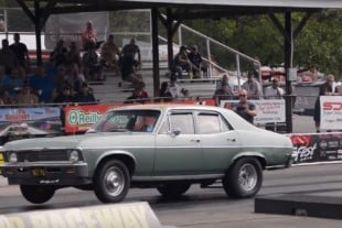 "Sweet Sleeper: Ray Gardocki's 9-Second 1968 Boosted ""Sweet Pea"" Nova"