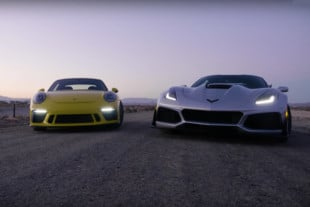 Video: Euro Versus USDM - 911 GT3 Goes Up Against Corvette ZR1