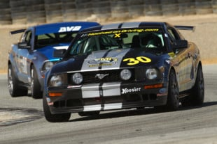 Onboard An Oversteering Spec Mustang Qualifying At The SCCA Runoffs