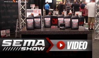 SEMA 2018: Driven's Direct-Injection Specific Oils