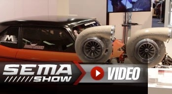 SEMA 2018: The Garrett GTX5544 Makes Monstrous Horsepower Possible