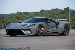 Vaughn Gittin Jr. Lives The Dream Slaying Tires In Custom Ford GT