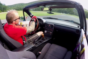 Video: Supercharged Miata Versus K24-Powered Miata At Lime Rock!