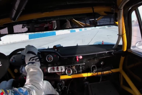 Video: Leh Keen Skates And Slides A Porsche 911 IROC Around Sebring