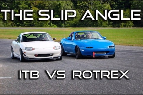 Video: Supercharged Miata Slithers In Pursuit of ITB-Spec Miata