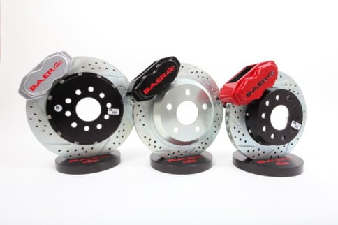Modern Performance But Vintage Looks with Baer's SS4 Brakes