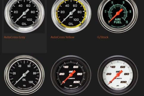 Classic Instruments Performance Gauges: More Than A Pretty Face
