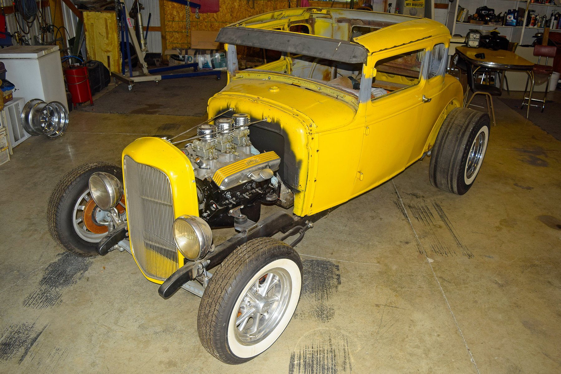 El Cheapo: Building A Rat Rod For $1,500  Episode 4 – The Frame
