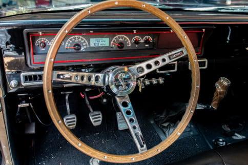 Ford Fairlane Restomod Gets A Dakota Digital VHX Dash Upgrade