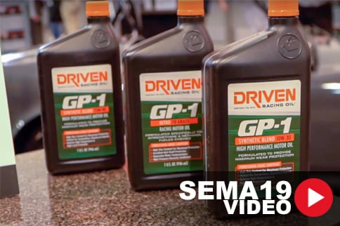 SEMA 2019: Driven Racing Oil Introduces GP-1 Synthetic Engine Oil