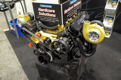 SEMA 2019: Meziere's Mechanical Water Pump For The LS Platform