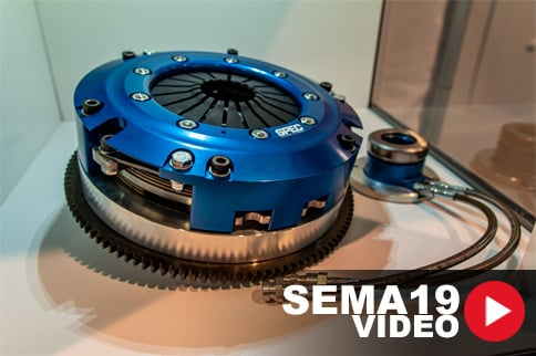 SEMA 2019: SPEC Introduces Super Twin Clutches for V6-Powered Camaro