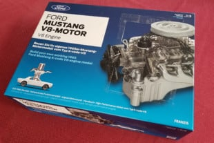 Working 1:3 Scale 289 Windsor Small-Block Ford Model From FRANZIS