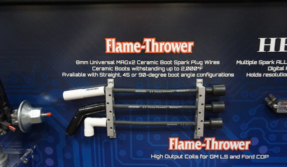 PRI 2019: Pertronix Flame Thrower Wires Get Ceramic Boots