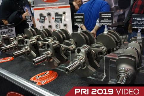 PRI 2019: SCAT Crankshafts Fix Issues In LS Engines
