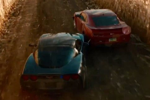 Rob's Movie Muscle: The Last Stand's Corvette ZR1 And Camaro ZL1