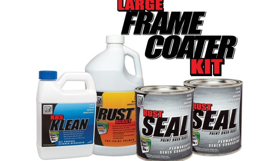 KBS Coatings Introduces Large Frame Coater Paint Kit